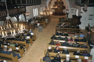 Gudstjeneste med De ni læsninger @ Nazarethkirken | Ryslinge | Danmark