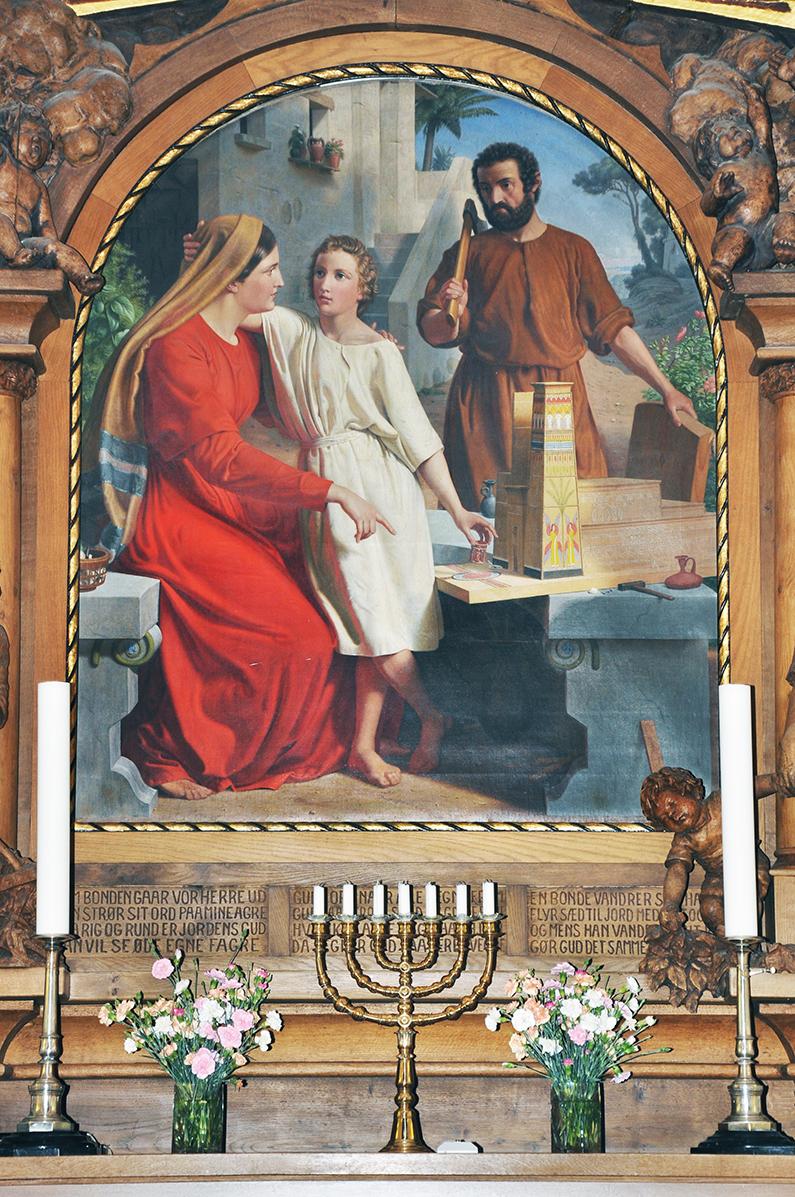 konfirmations billeder ved alteret