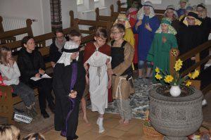Påskespil med Ryslinge Friskoles 4. og 5. klasse @ Nazarethkirken | Ryslinge | Danmark