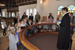 Julegudstjeneste for børnehaven Eventyrhuset @ Nazarethkirken | Ryslinge | Danmark