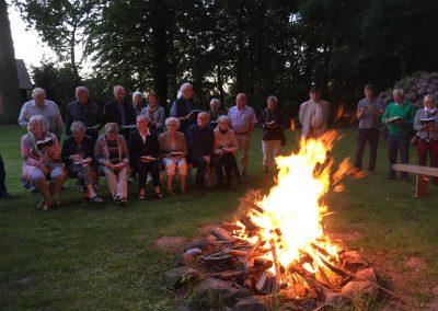 Midsommerfest med bål