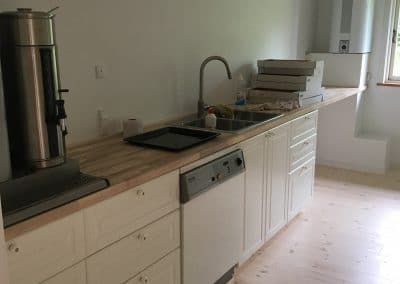 Nye køkken
