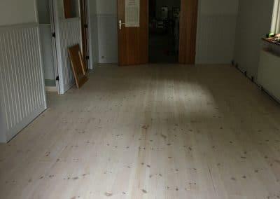 Nyt gulv i entre