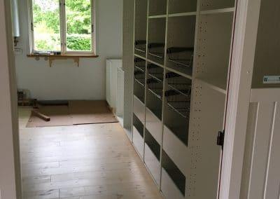 Nyt gulv i køkken