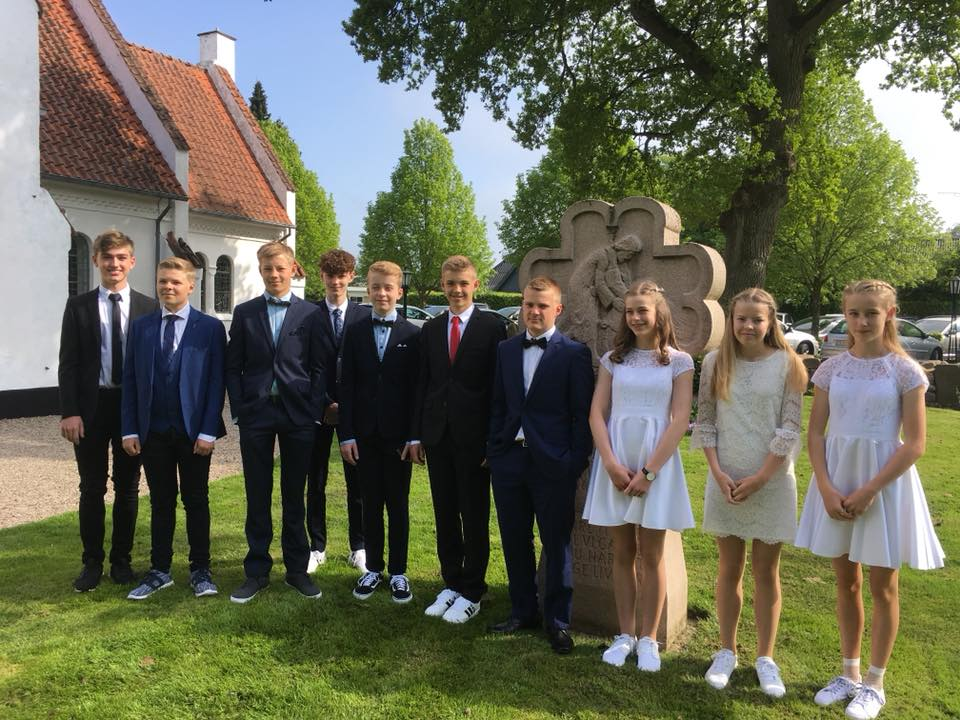 Konfirmation i Ryslinge Valgmenighed